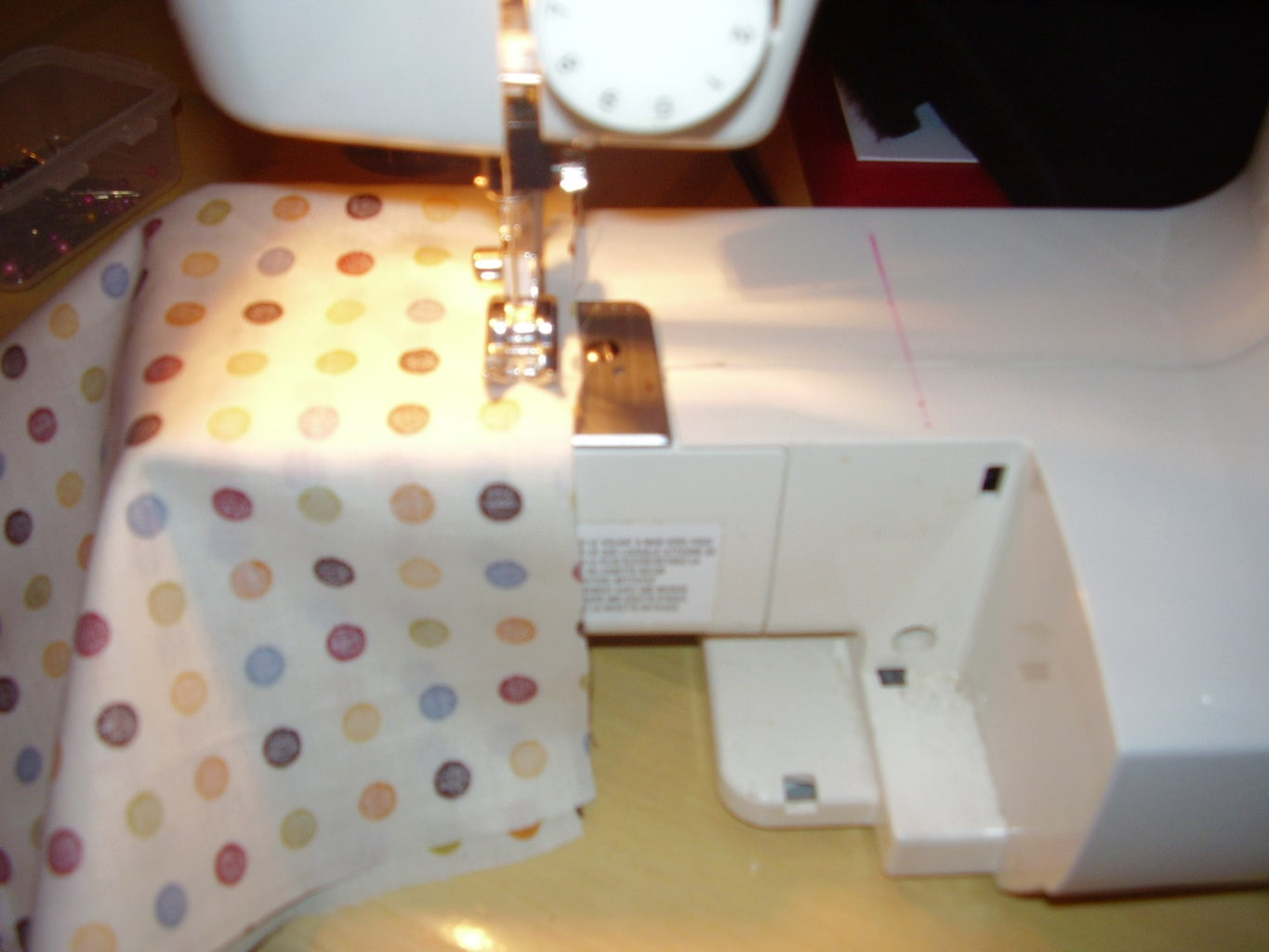 Sew the Sides & Bottom