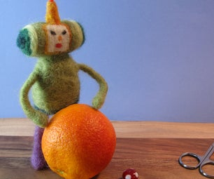 Needle-felted Light Up Prince of All Cosmos