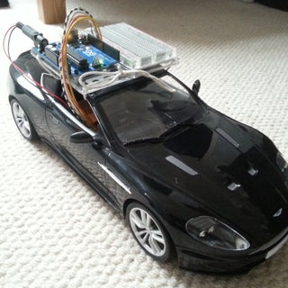 Autonomous Control of RC Car Using Arduino