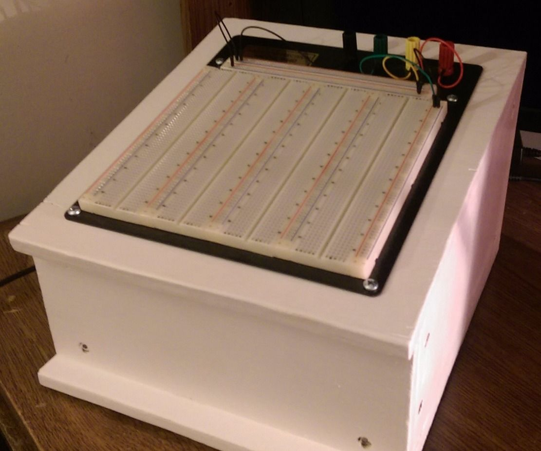 Powered Electronics Breadboard