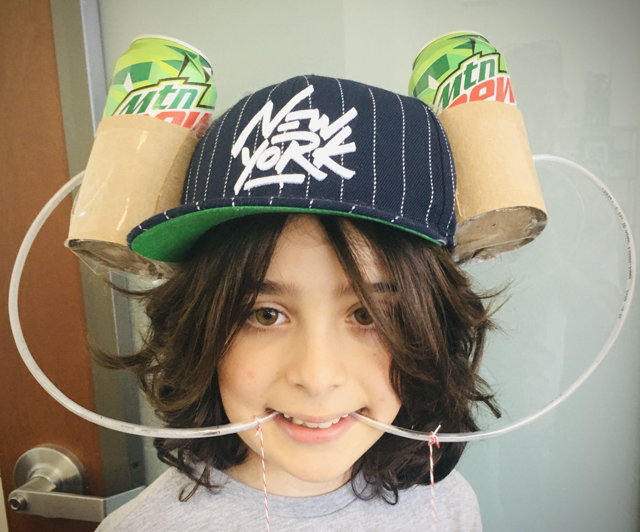 Soda Drinking Hat!