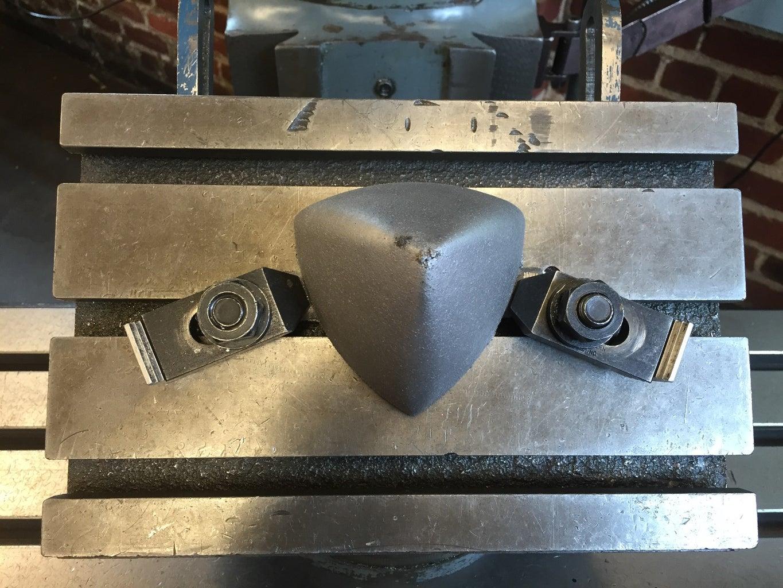 Cutting Triangular Hole in Base (part 1)