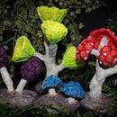 Mushroom Forest Tabletop Terrain