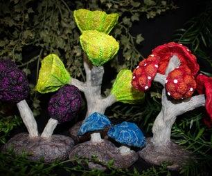 蘑菇森林桌面地形