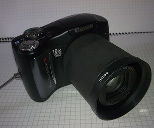 How to Add Filters and Lenses to Canon SX100is