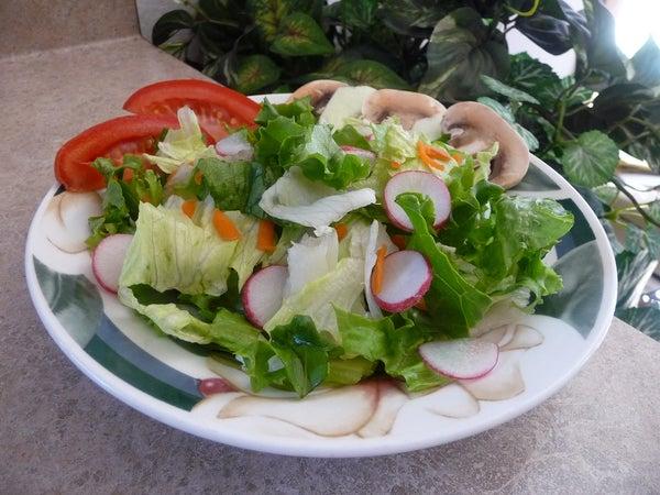 Keep Salad Greens Fresh!