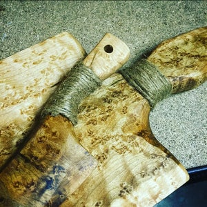 Staining, Sealing and Handle Grip
