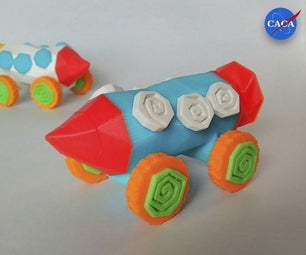 Crazy Rocket With Wheels and a Secret Compartment