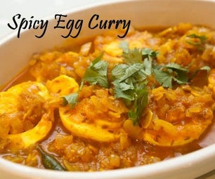 Spicy Egg Curry - Who's Hungry