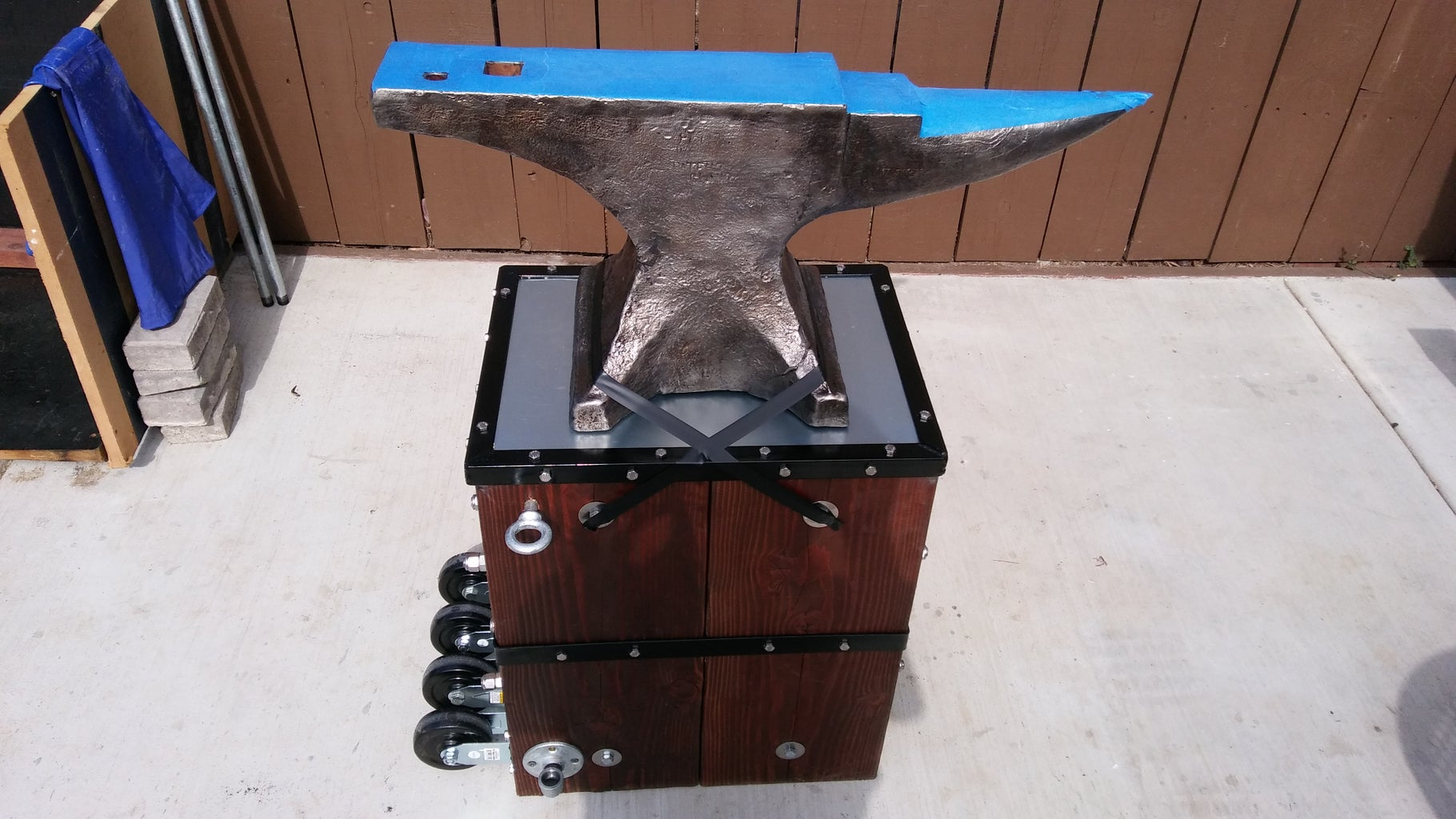 The Last Step Is to Mount the Anvil to a Suitable Anvil Stand!  :-)