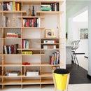 Slot Joint Adjustable Bookshelves