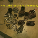 MHI Turbo Rebuilding and Modifications