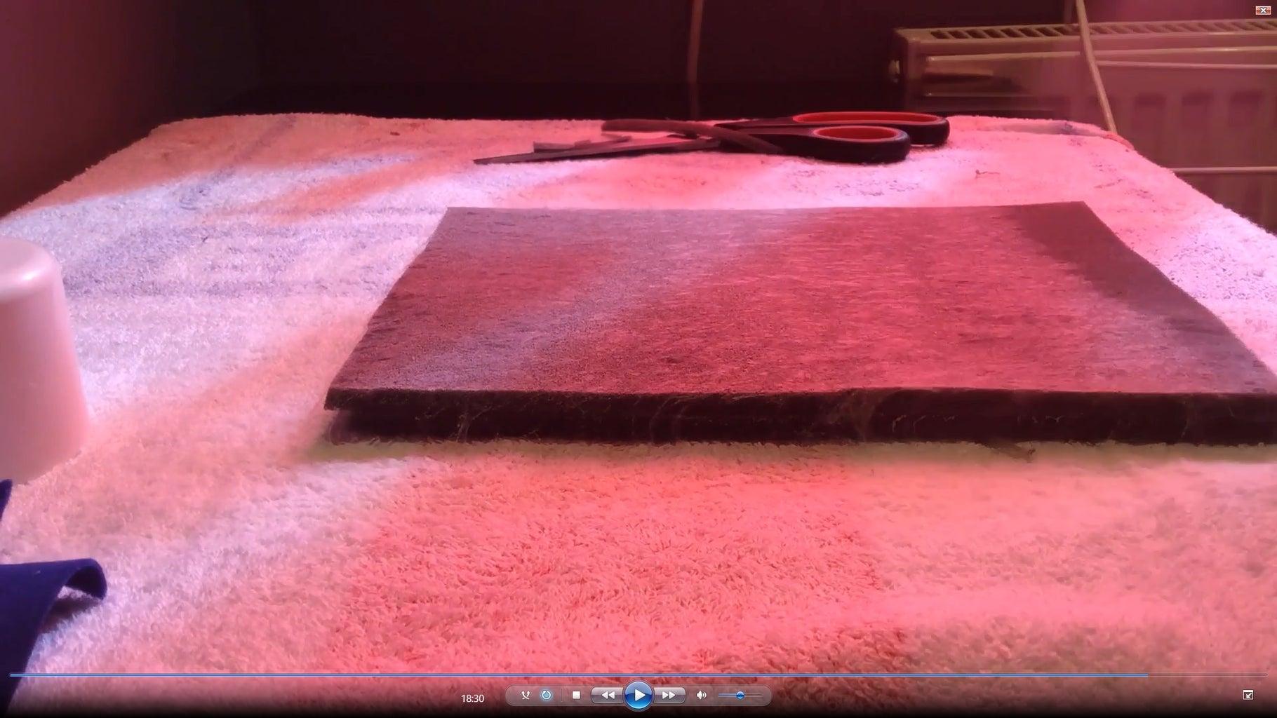 Step 15 - Felt & Foam Inside the Box