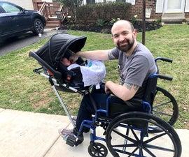 WheeStroll- Wheelchair Stroller Attachment