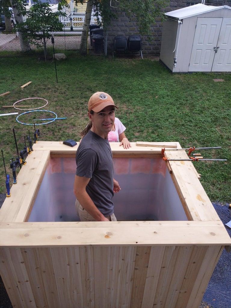 Add a Decorative Top and Cedar Cladding