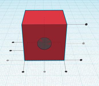 Design Process - Grip Block - Hole