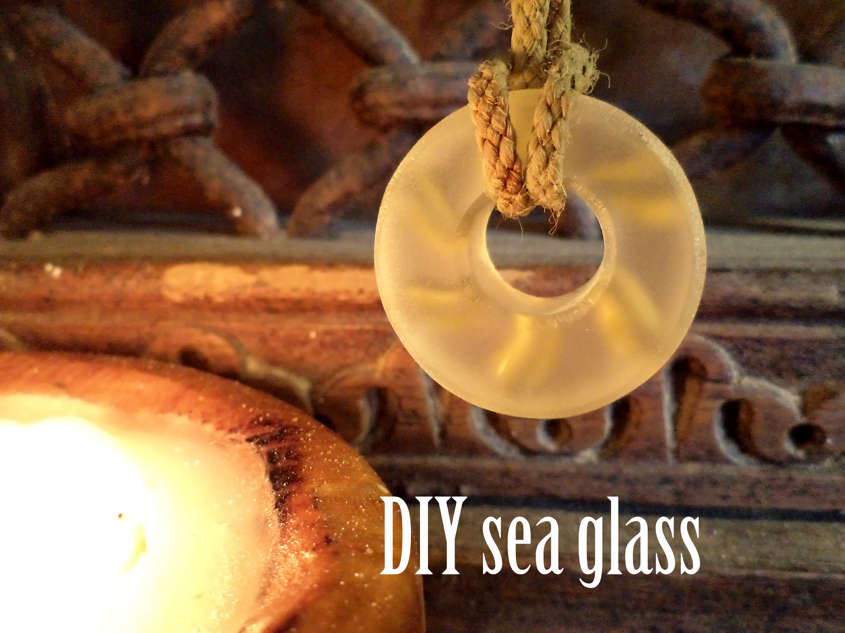 DIY Sea Glass