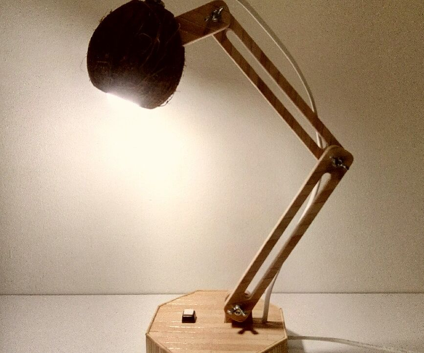 Coconut Desk Lamp