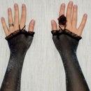 DIY Glamorous sexy gloves