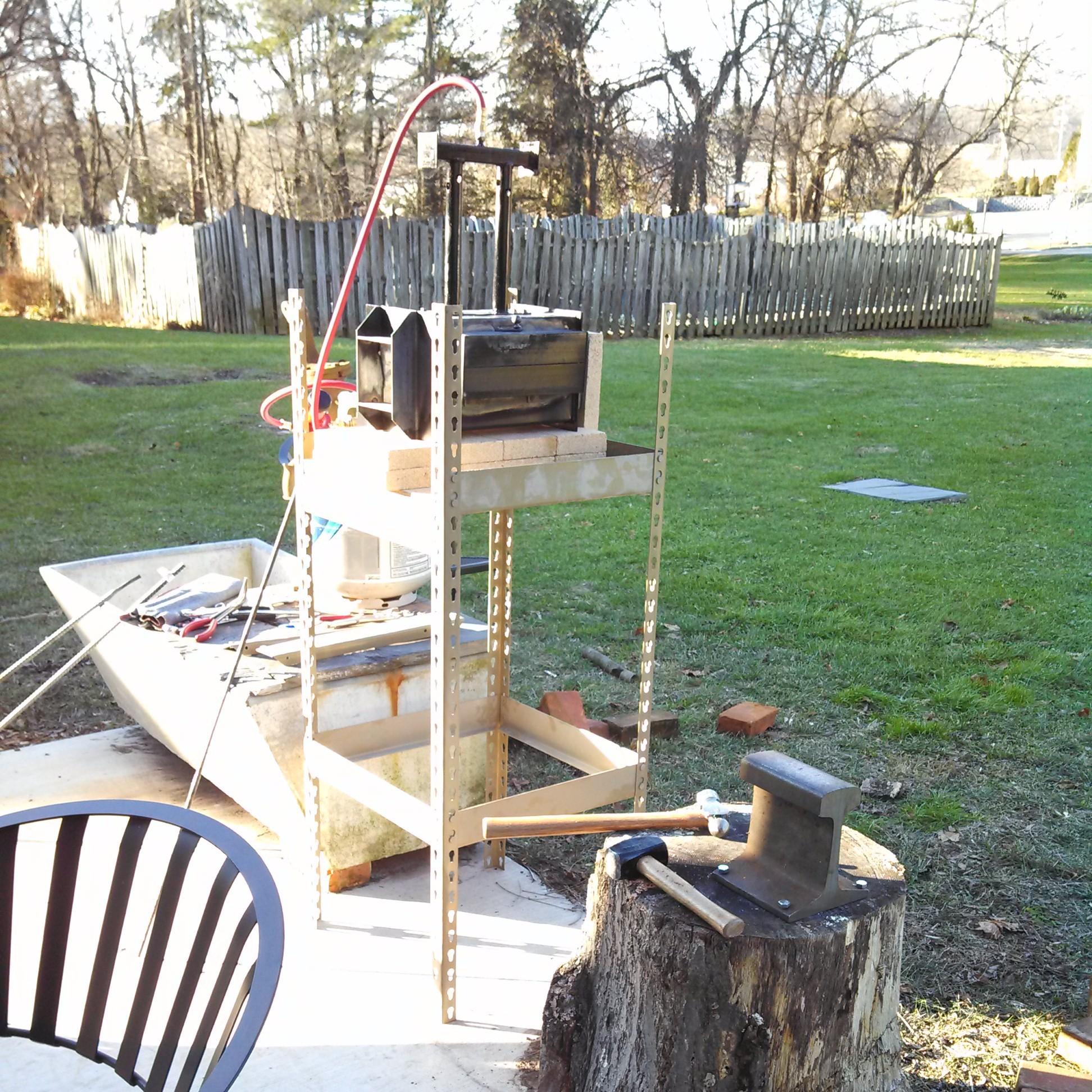 Start Blacksmithing
