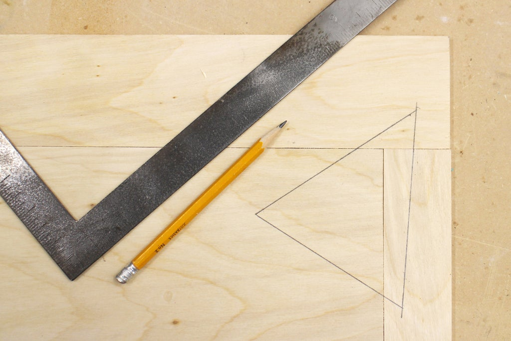 Wood Layout - Triangle Registration