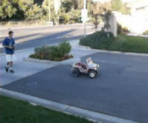 Remote Controlled Barbie Jeep