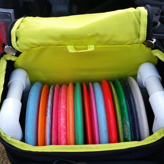 DIY Disc Golf Backpack