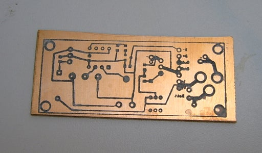 Etch-resist for the Circuit Boards