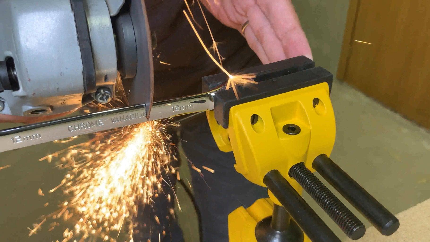 Modifying 12mm Ratchet Spanner