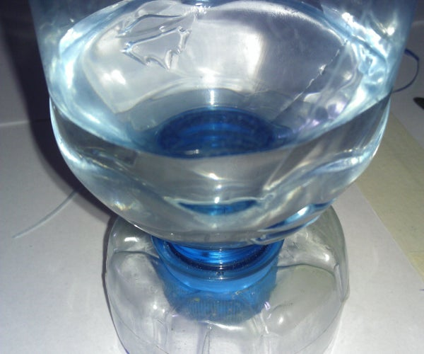 Cup From Plastic Bottle