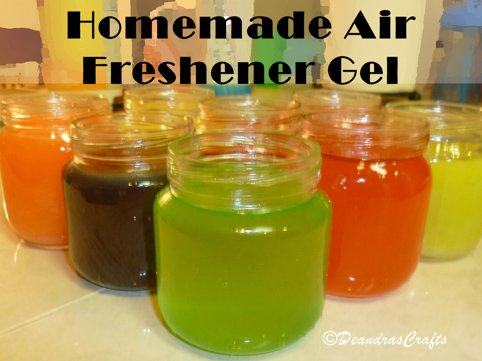 Homemade Air Freshener Gel With Pictures Instructables
