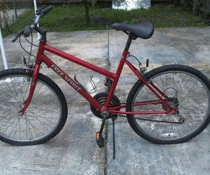 Bike Frame Painting.