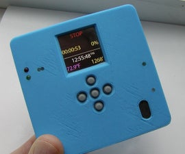 Hiking Data Logger Using RFM69CW