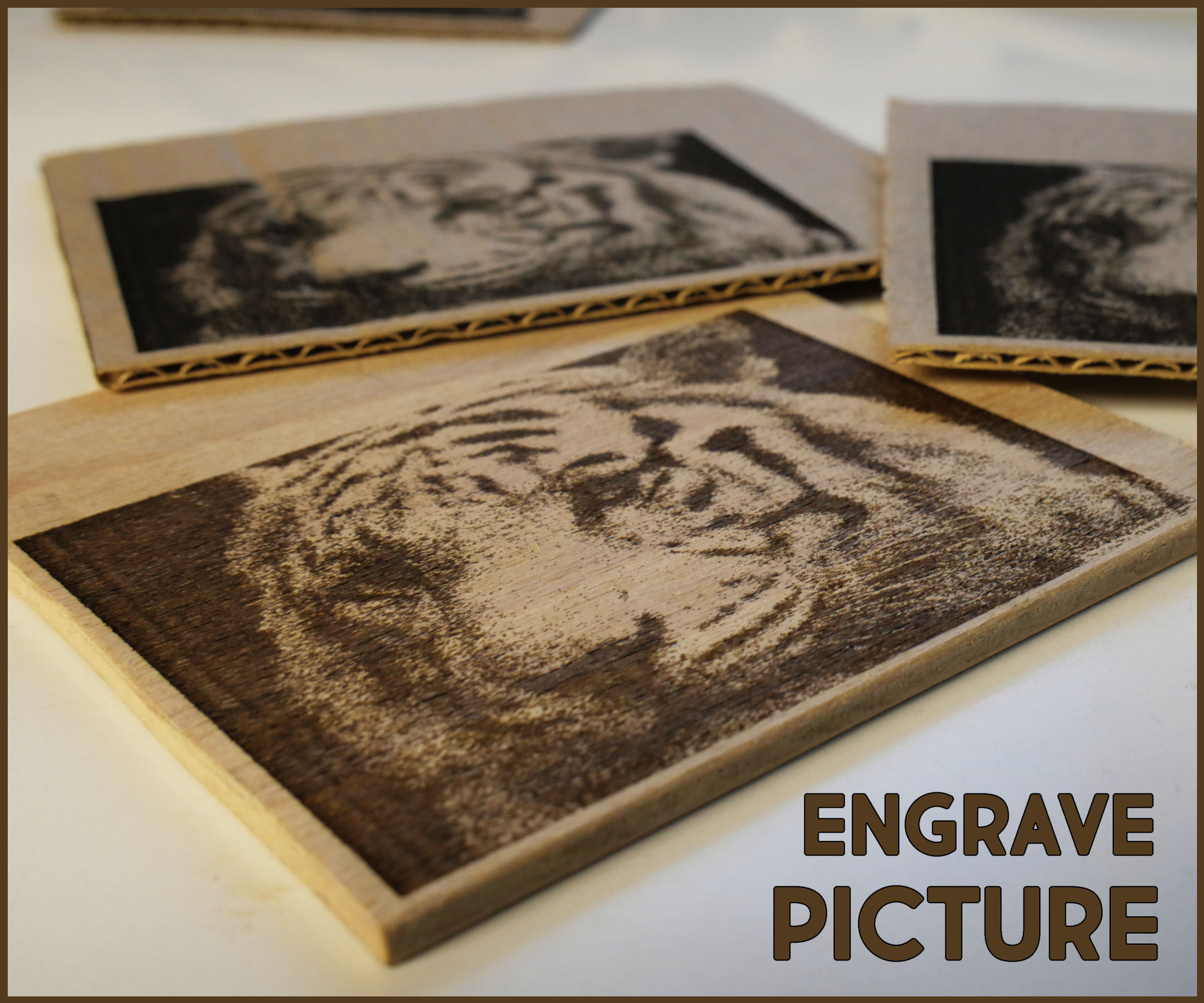 How to Engrave Picture on Wood