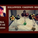 DIY: HALLOWEEN CAKE POPS
