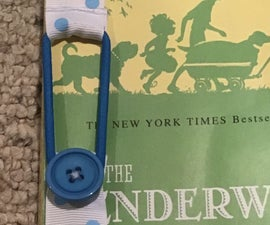 Simple DIY Ribbon Bookmark