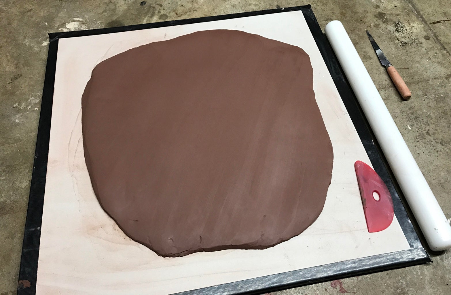 Create Slab of Clay