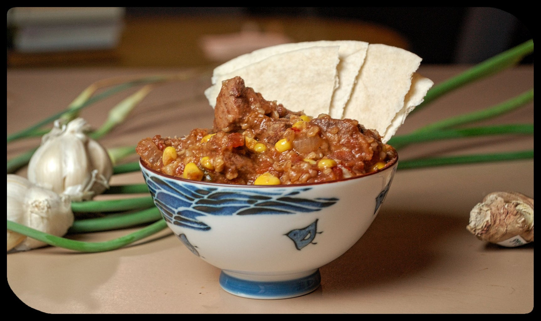 Mexican Beef Stew in a Slow Cooker