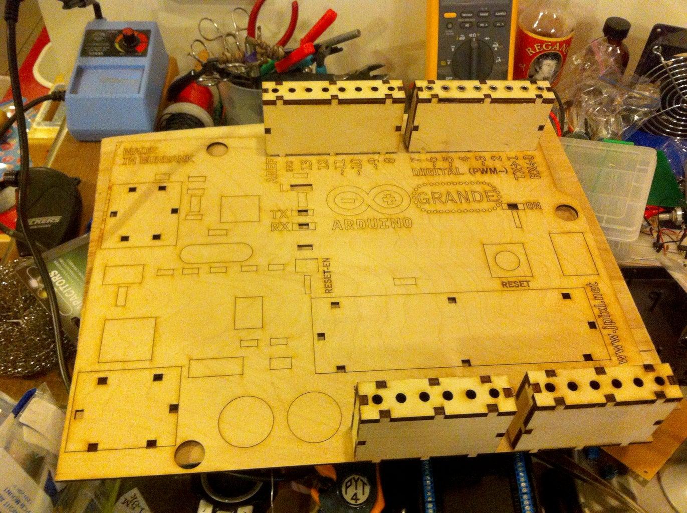 Prototype With Plywood