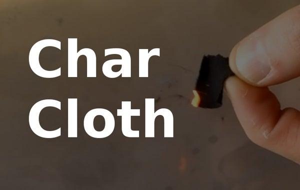 Make Char Cloth Easily at Home!