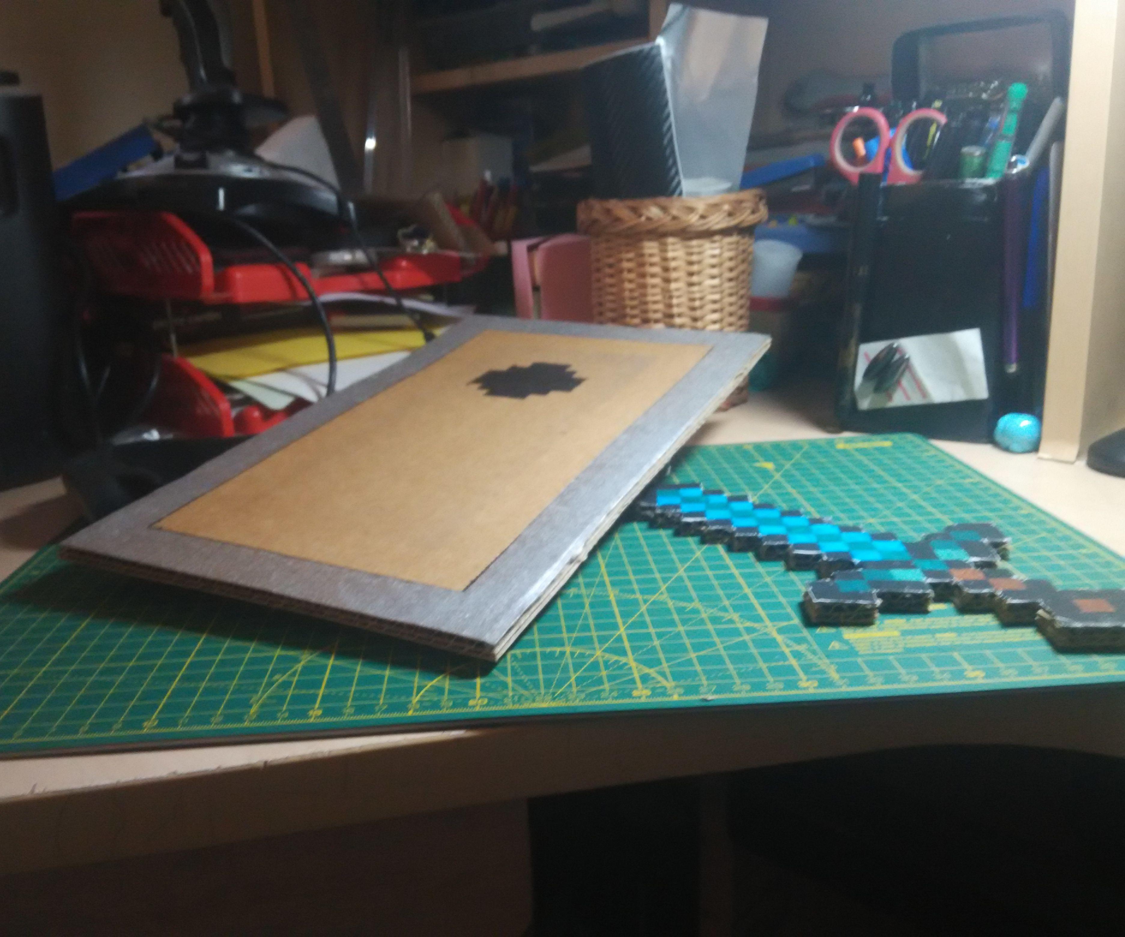[DIY] Minecraft Shield and Sword