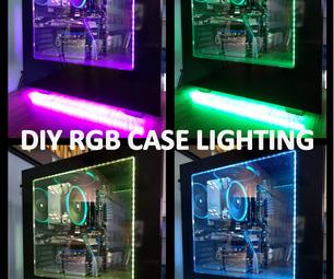 RGB LED Computer Case Lighting (magnetic)