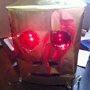 My first DIY Project - Shufflebot helmet