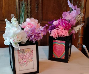 Picture Frame Bouquet