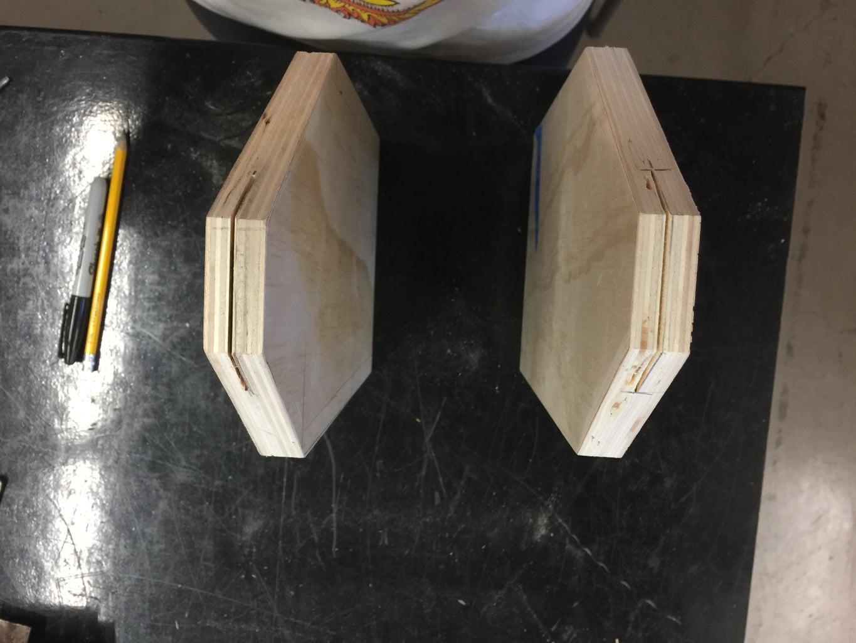 Step 4: Slits for Handles