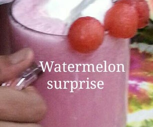Watermelon Surprise