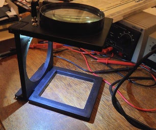 Upgrading Your Foldable Magnifier With a Multi-level Brightness LED-light
