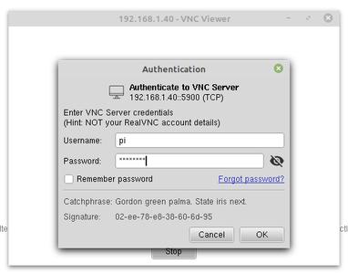 Connect Via RealVNC