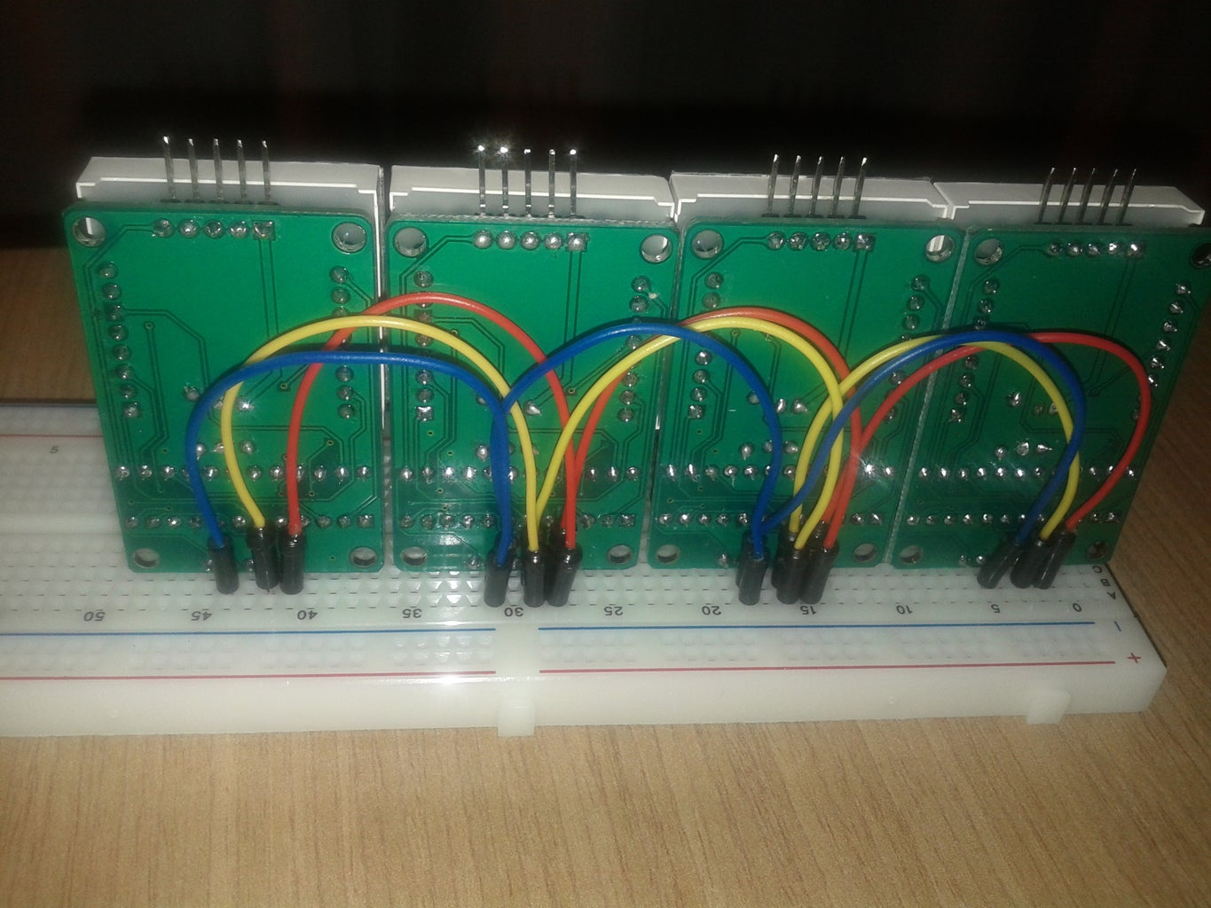 Wiring of Common PINs