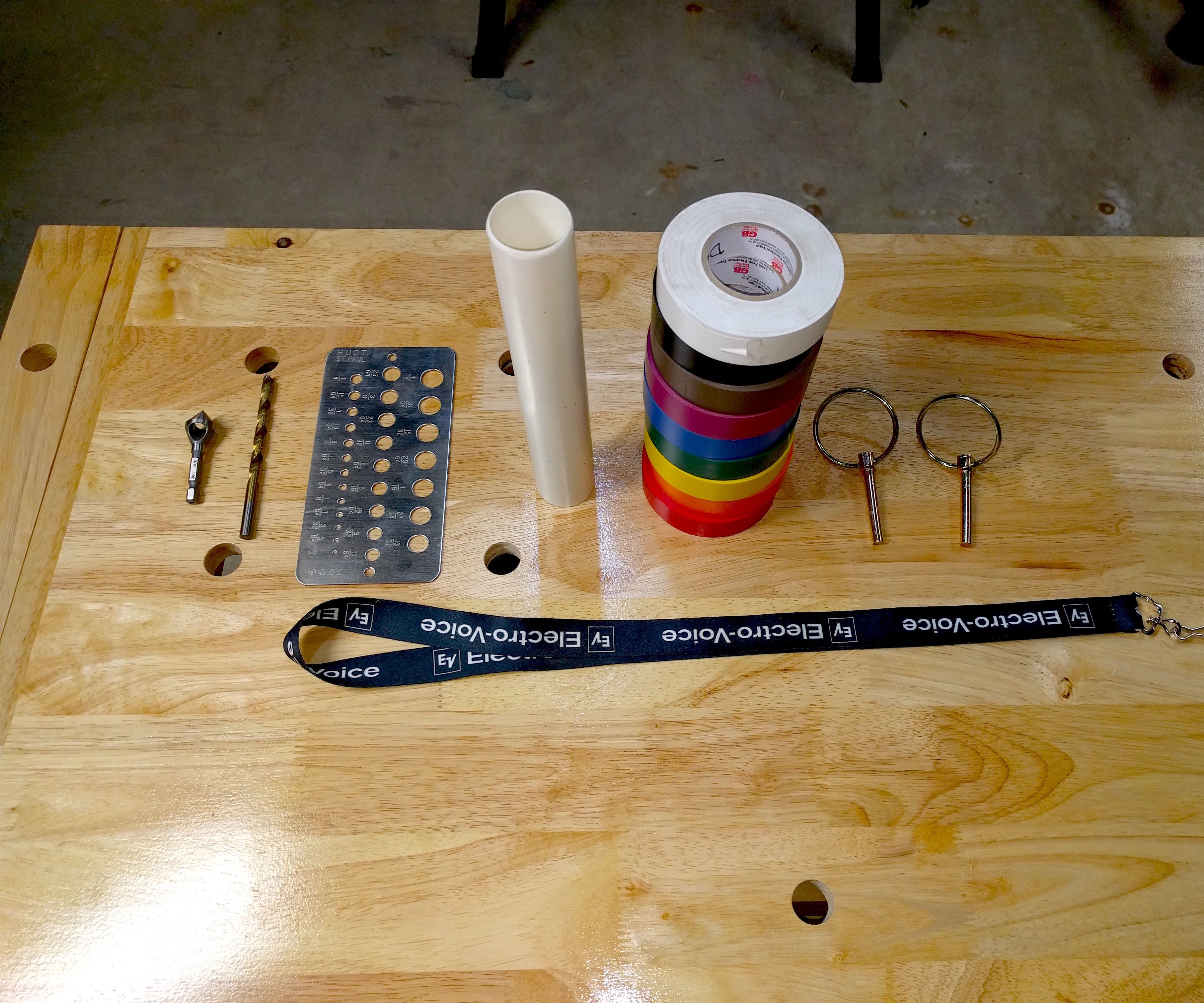 Electrical Tape Organizer